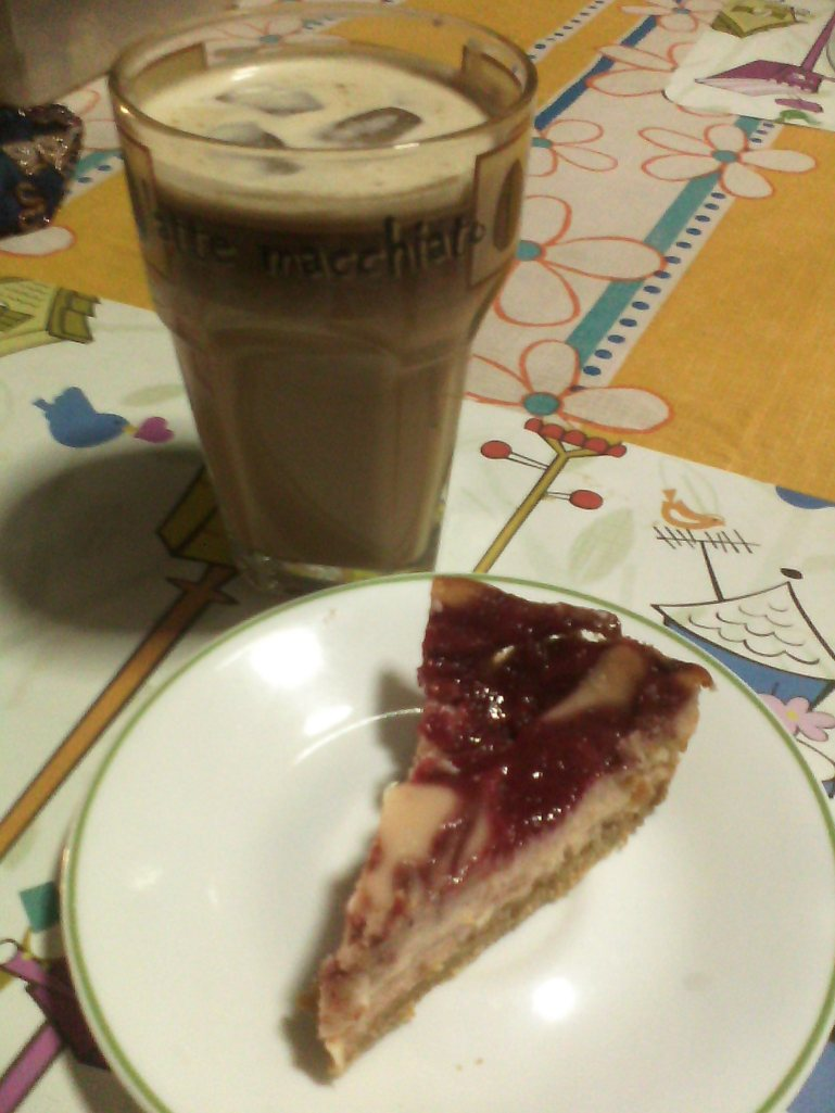 Cheesecake for breakfast?!  Yes; yes, PLEASE!