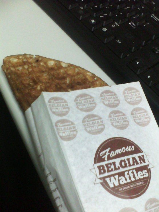 Anyone want a waffle?