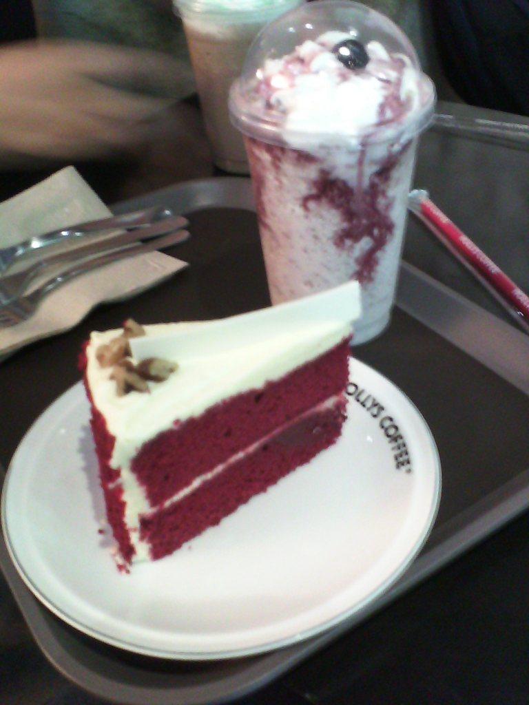Coffee, cake...