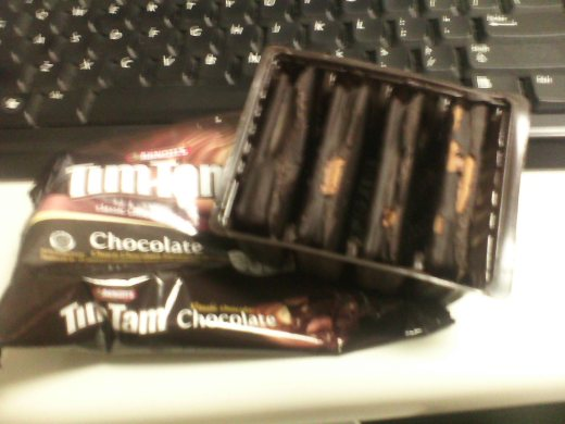 Tim Tams...  FROZEN Tim Tams...
