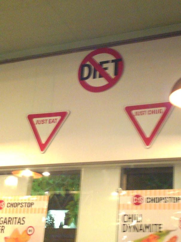 Diet?  What diet?!?