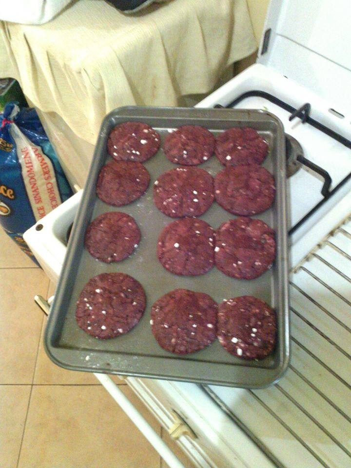 Red, fudgy, and utterly delicious...