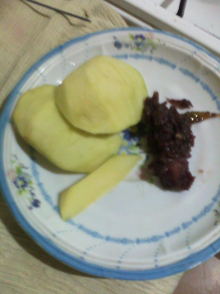 Nothing says summer more like green mangoes and bagoong