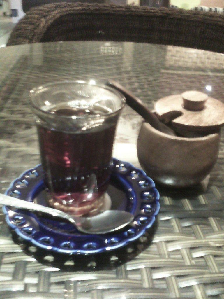 Turkish tea to whet the appetite