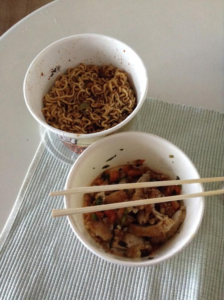 Chicken + noodles = WIN