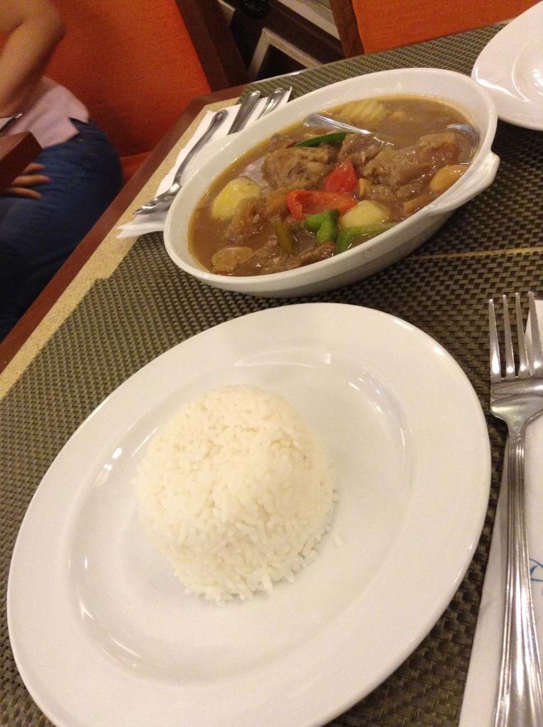 ...con arroz, por favor!