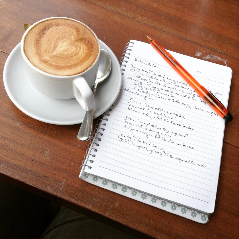 Have coffee, will write.