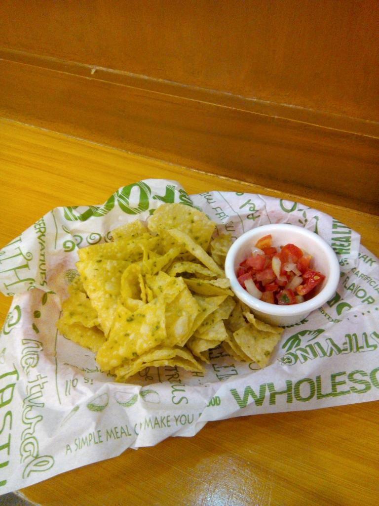 Veg chips for the win