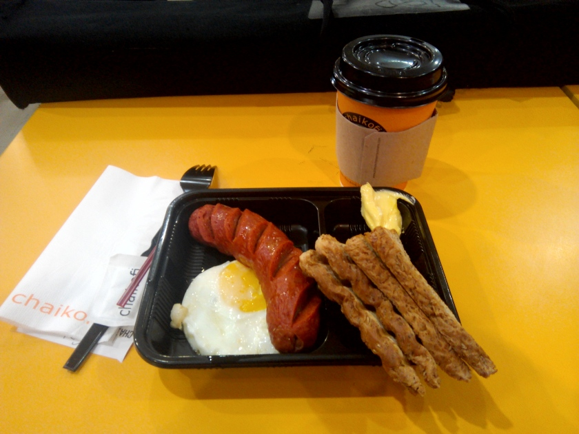 Breakfast Delight with Hungarian Sausage